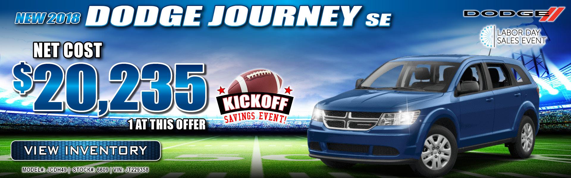 Dodge Journey $20,235