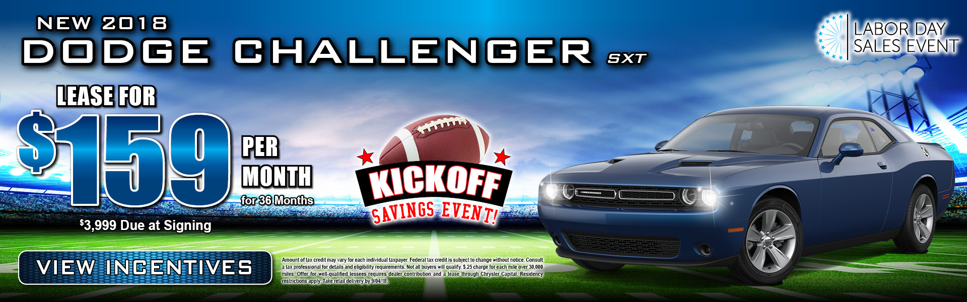 Dodge Challenger $159 Lease