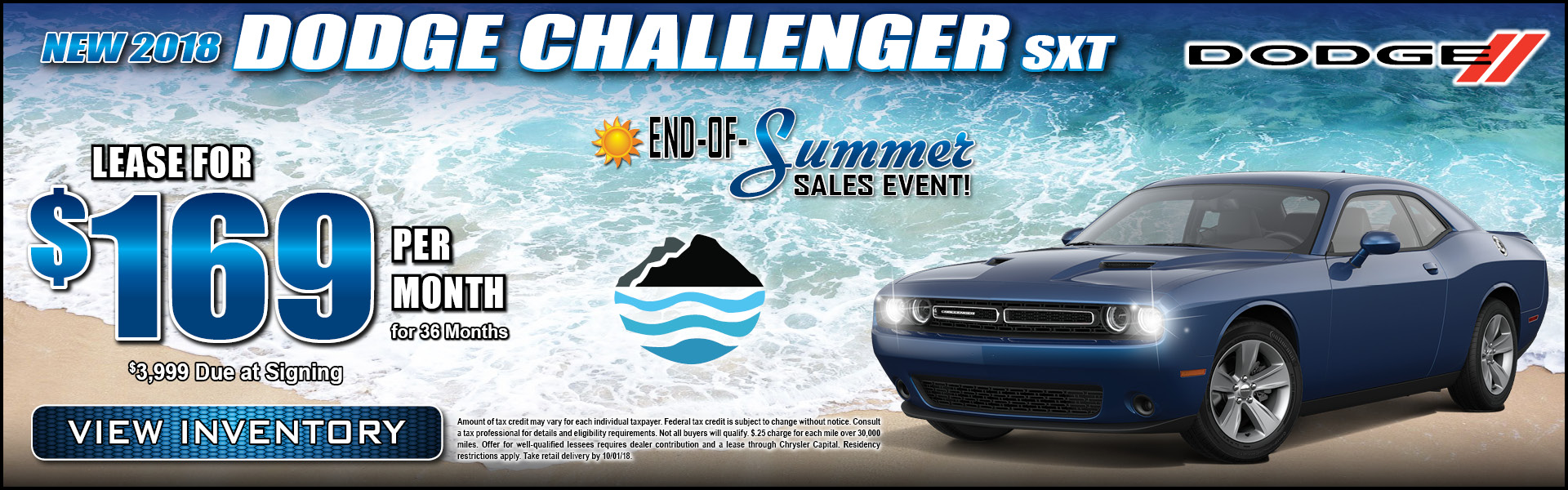 Dodge Challenger $169 Lease