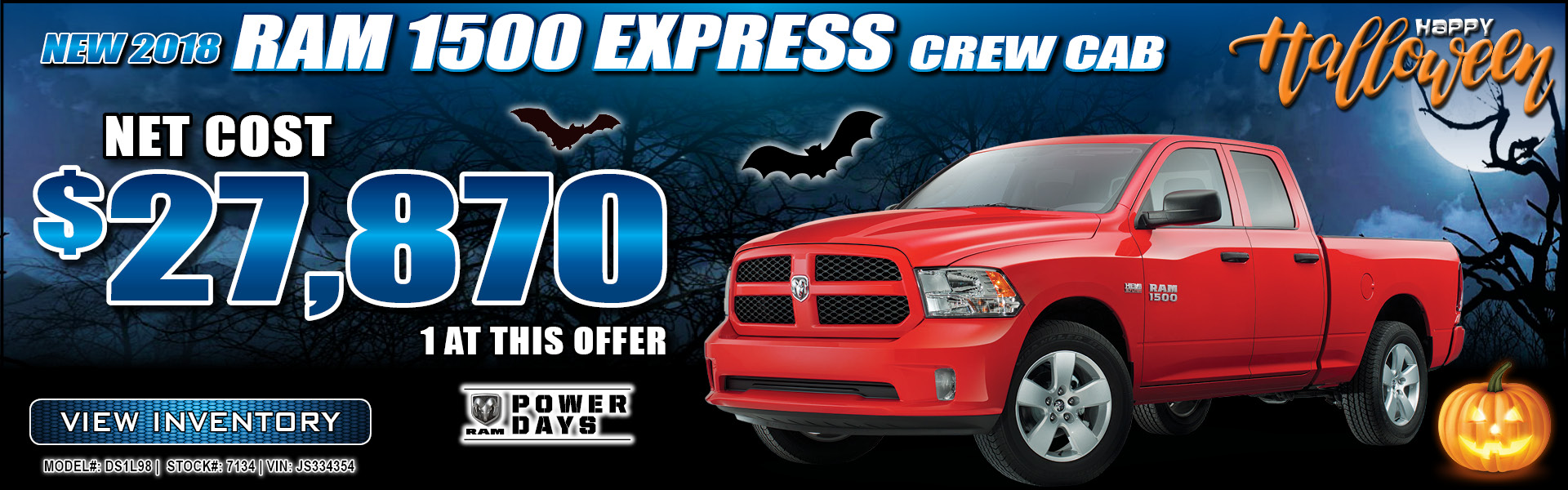 Ram 1500 Express $27,870