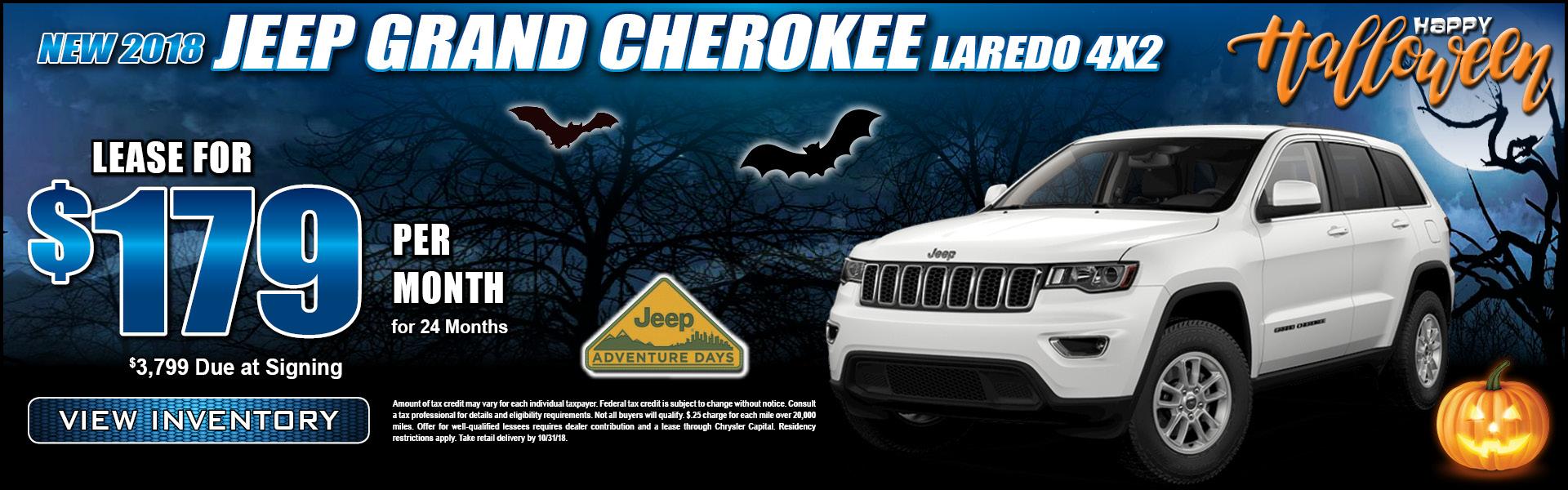 Jeep Grand Cherokee Laredo $179 Lease