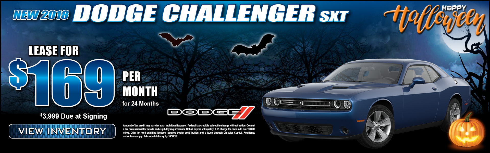 Dodge Challenger $169 Lease