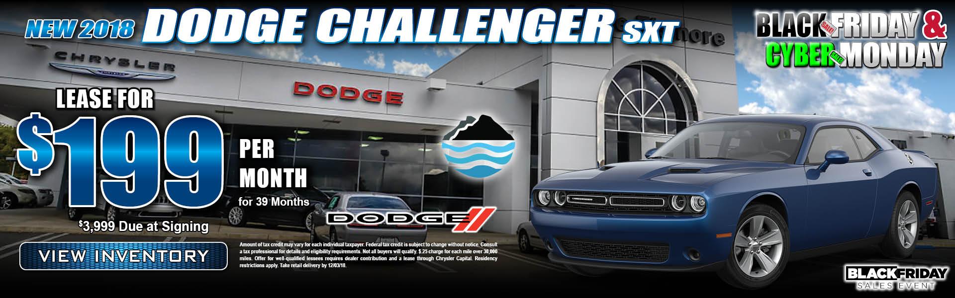 Dodge Challenger $199 Lease