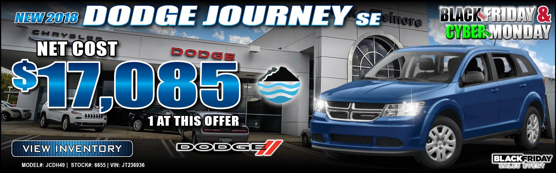 Dodge Journey $17,085