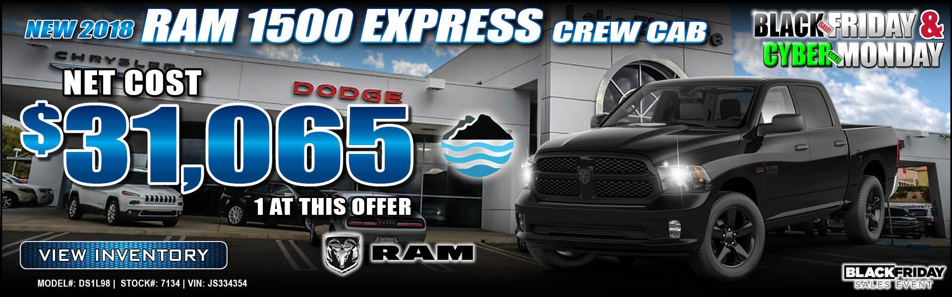 Ram 1500 Express $31,065