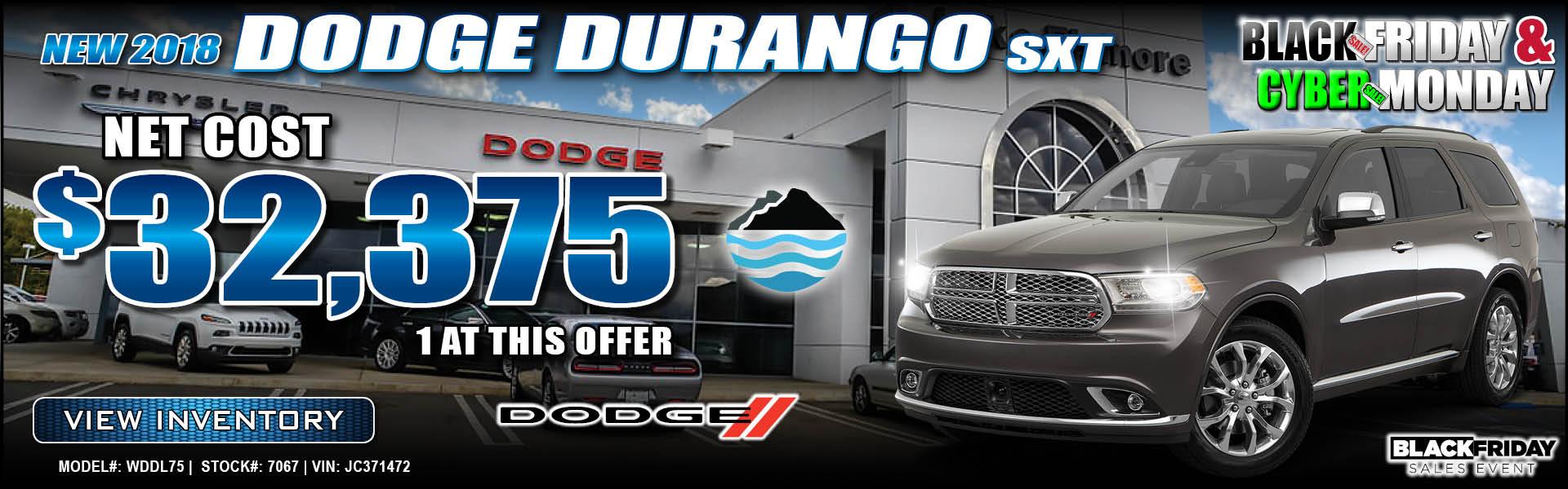 Dodge Durango $32,375
