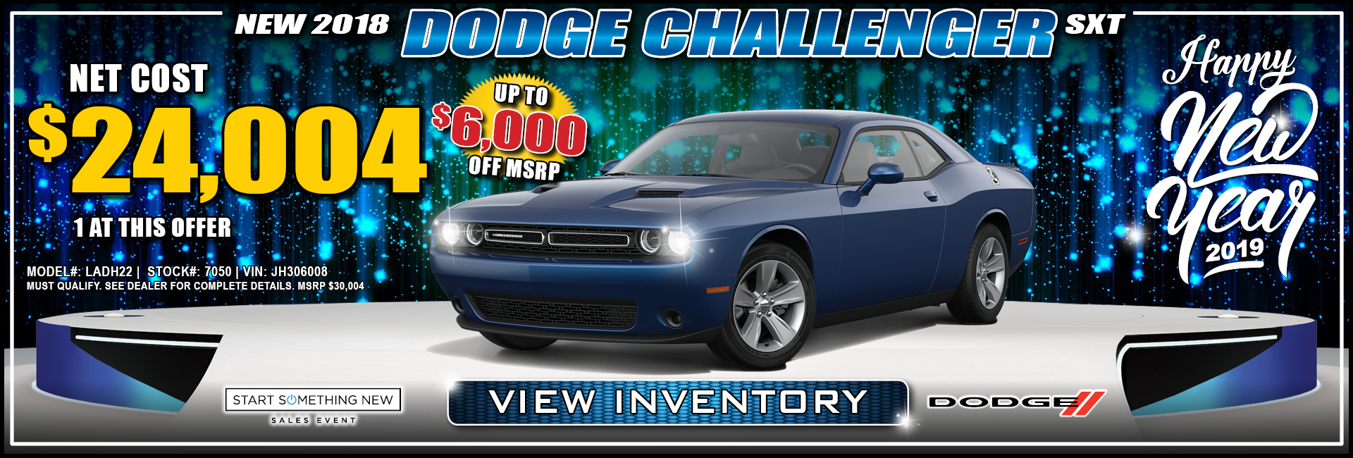 Dodge Challenger $24,004