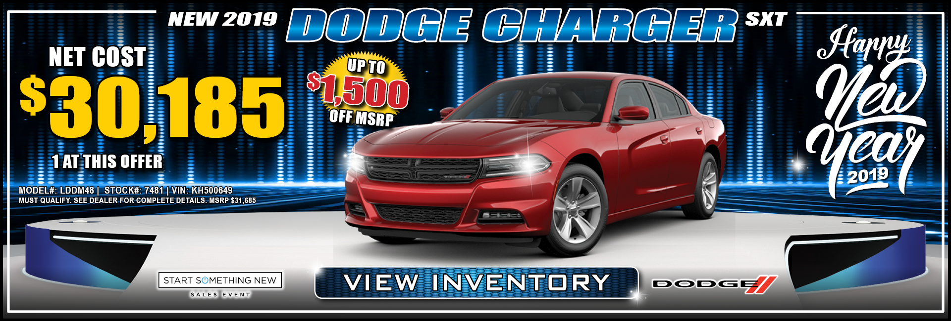 Dodge Charger $30,185