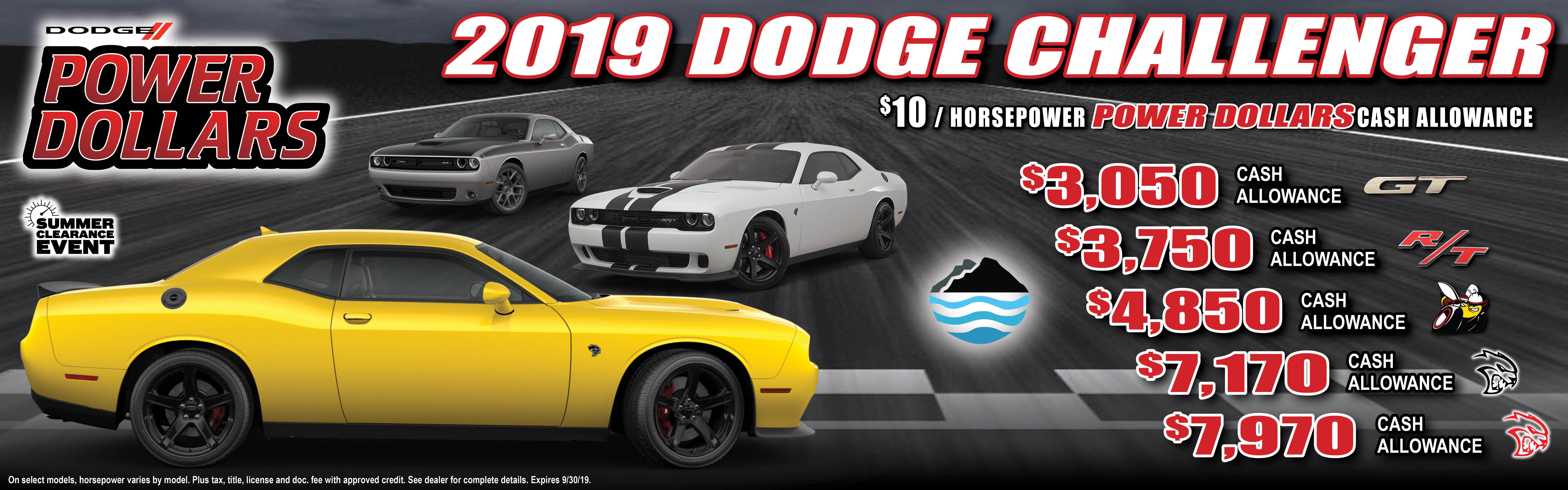 Power Dollars - 2019 Challenger