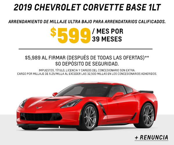Corvette Lease