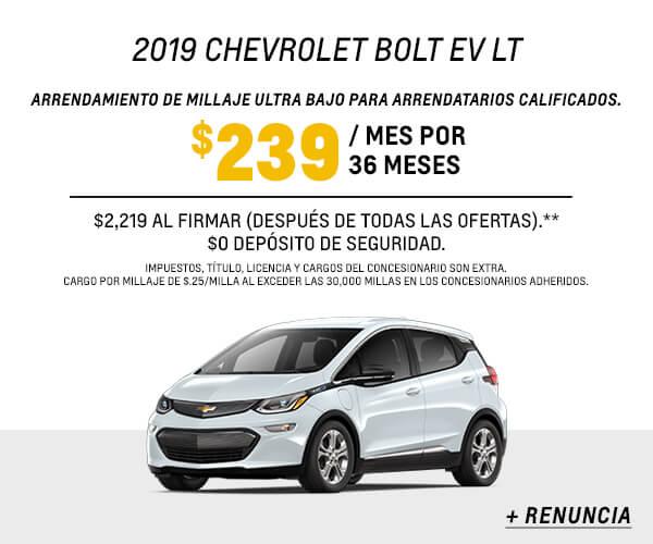 Bolt EV Lease