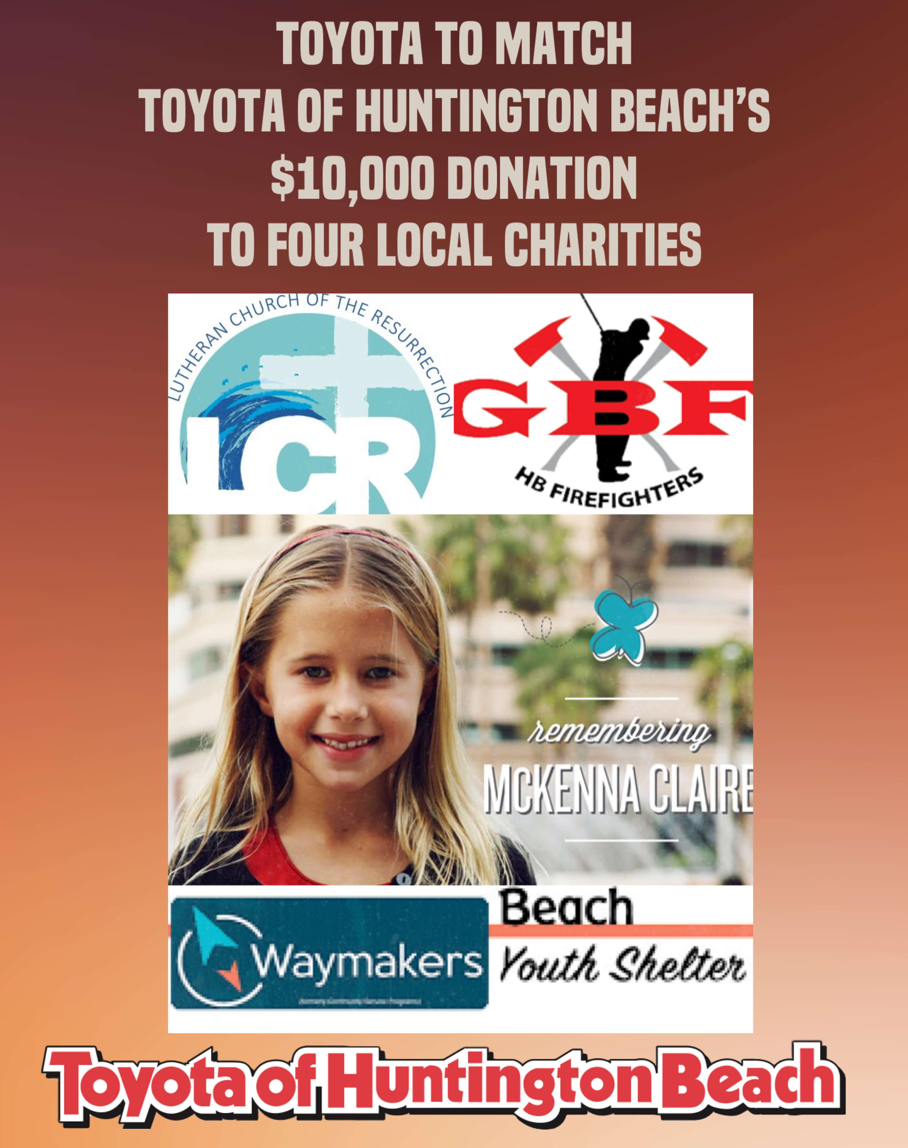 Toyota of Huntington Beach Takes Pride in Community Involvement