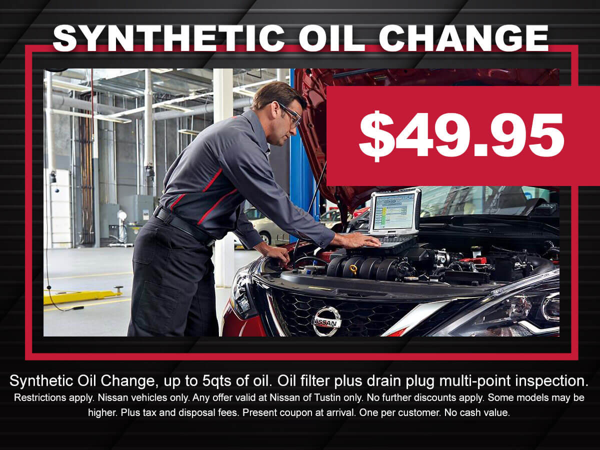 Superior Nissan Oil Change Coupon Special