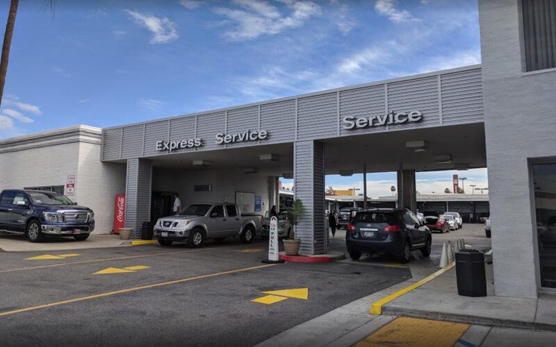 Nissan Service Drive