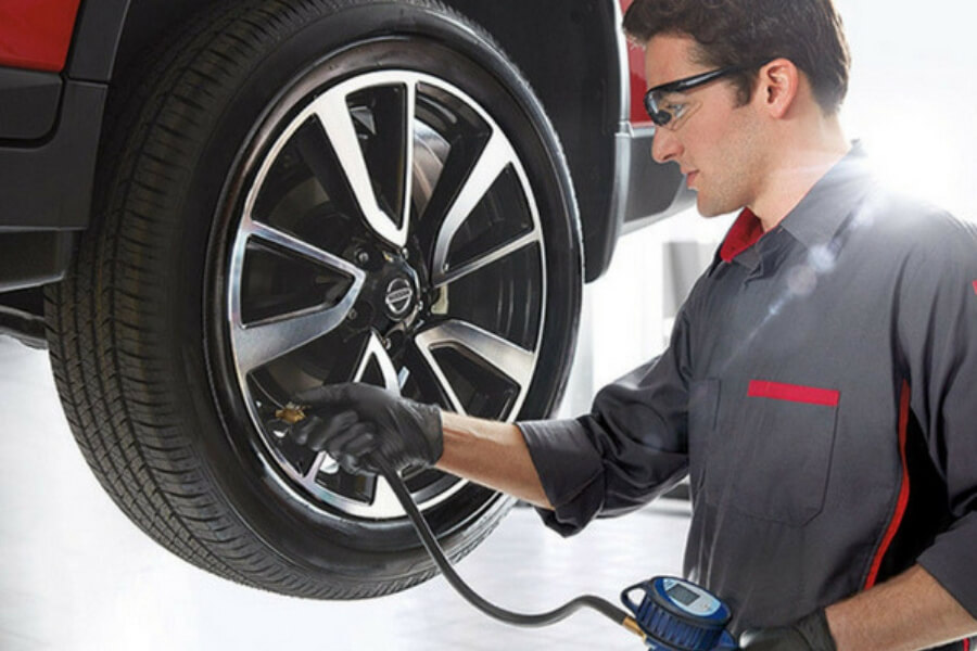 Nissan Tire Center Service Tustin California