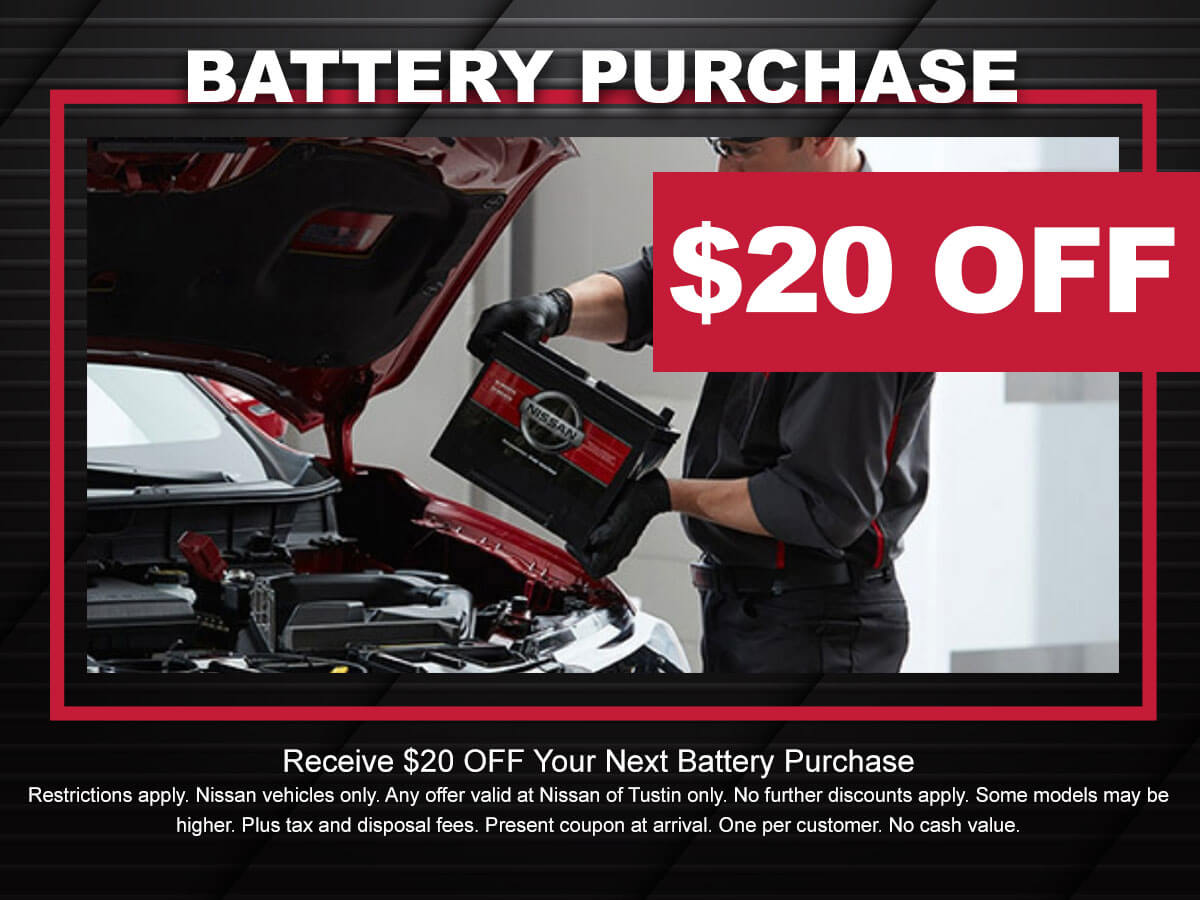 Nissan Battery Coupon