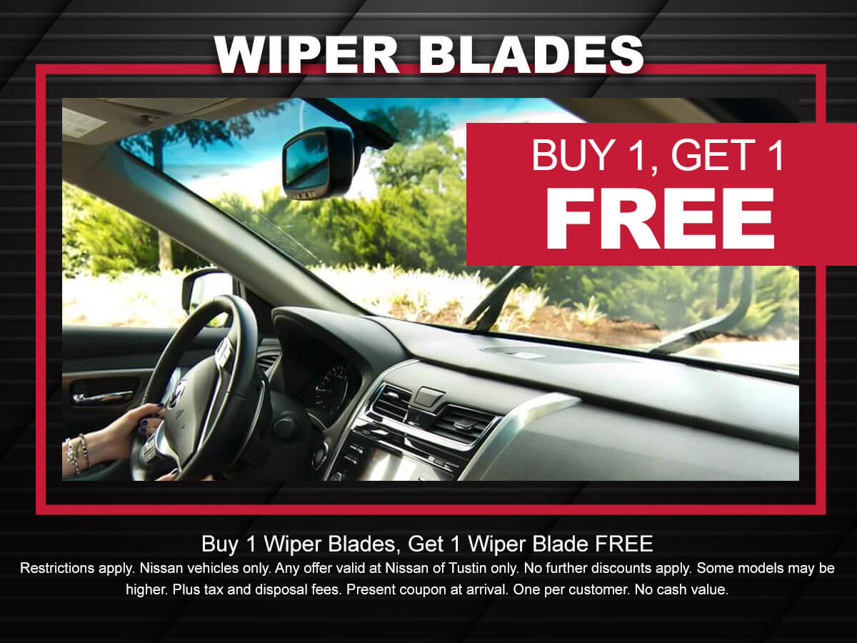 Nissan Wiper Blade Coupon