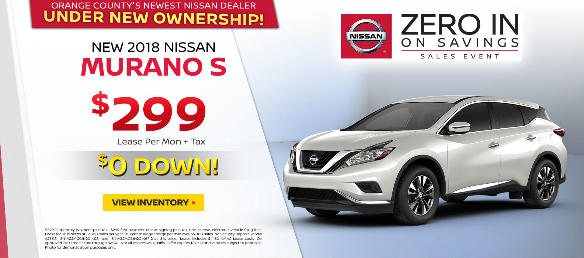 2018 Nissan Murano Special