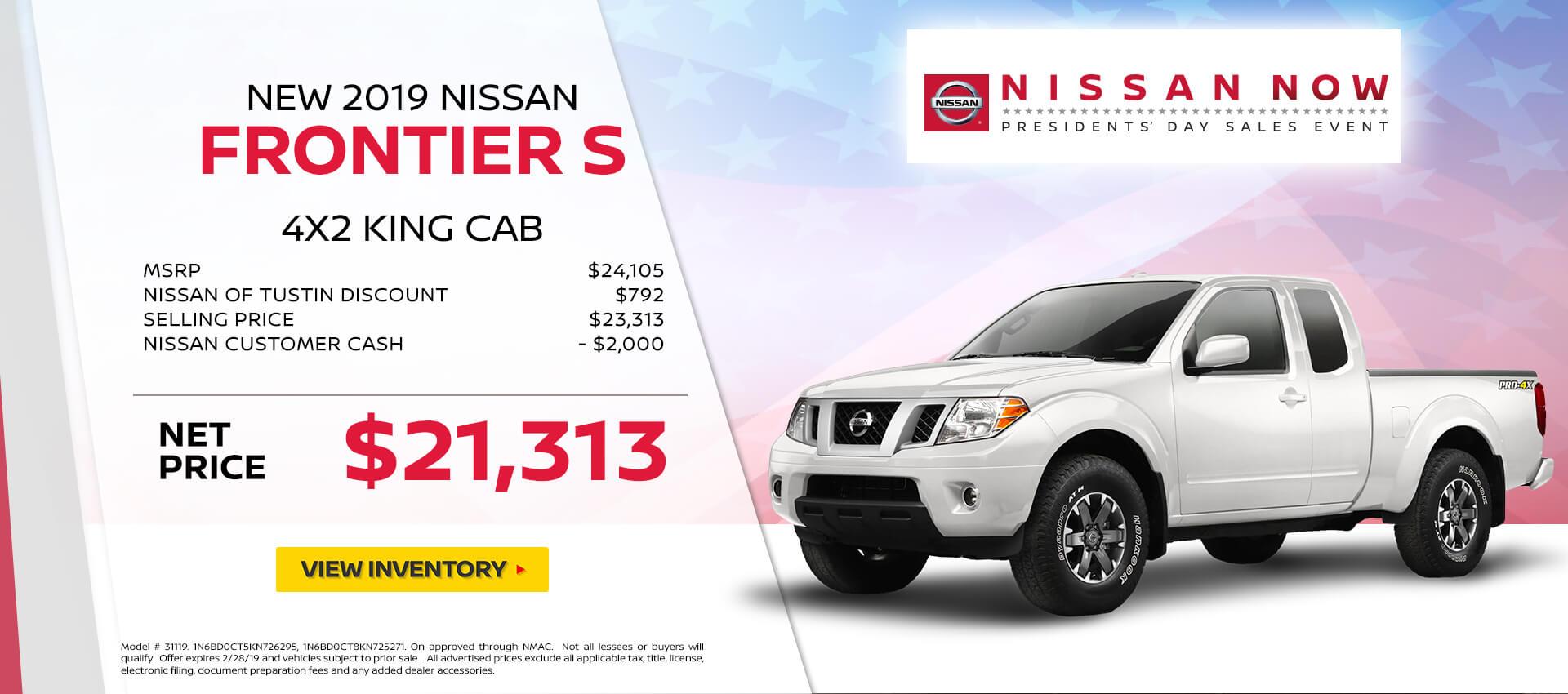 Nissan Frontier Special