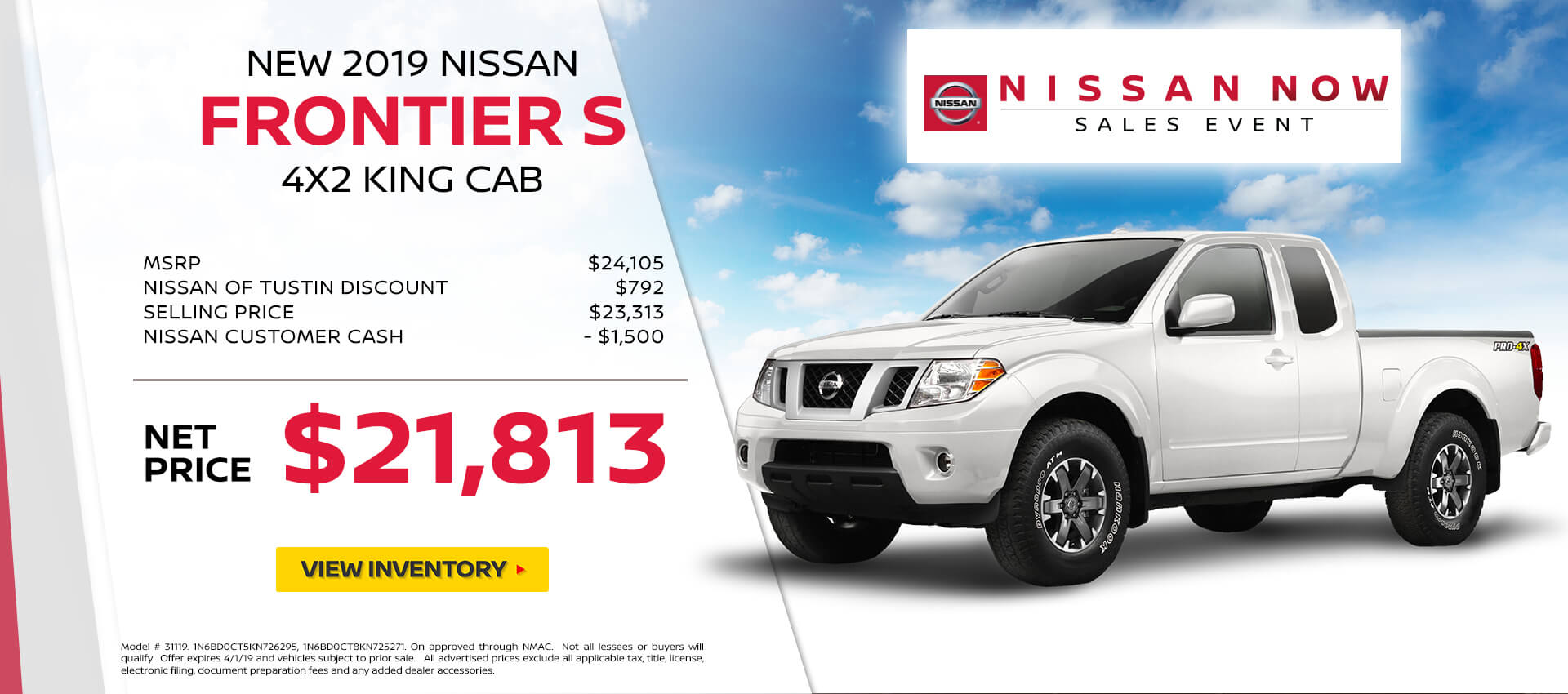 Nissan Frontier Special