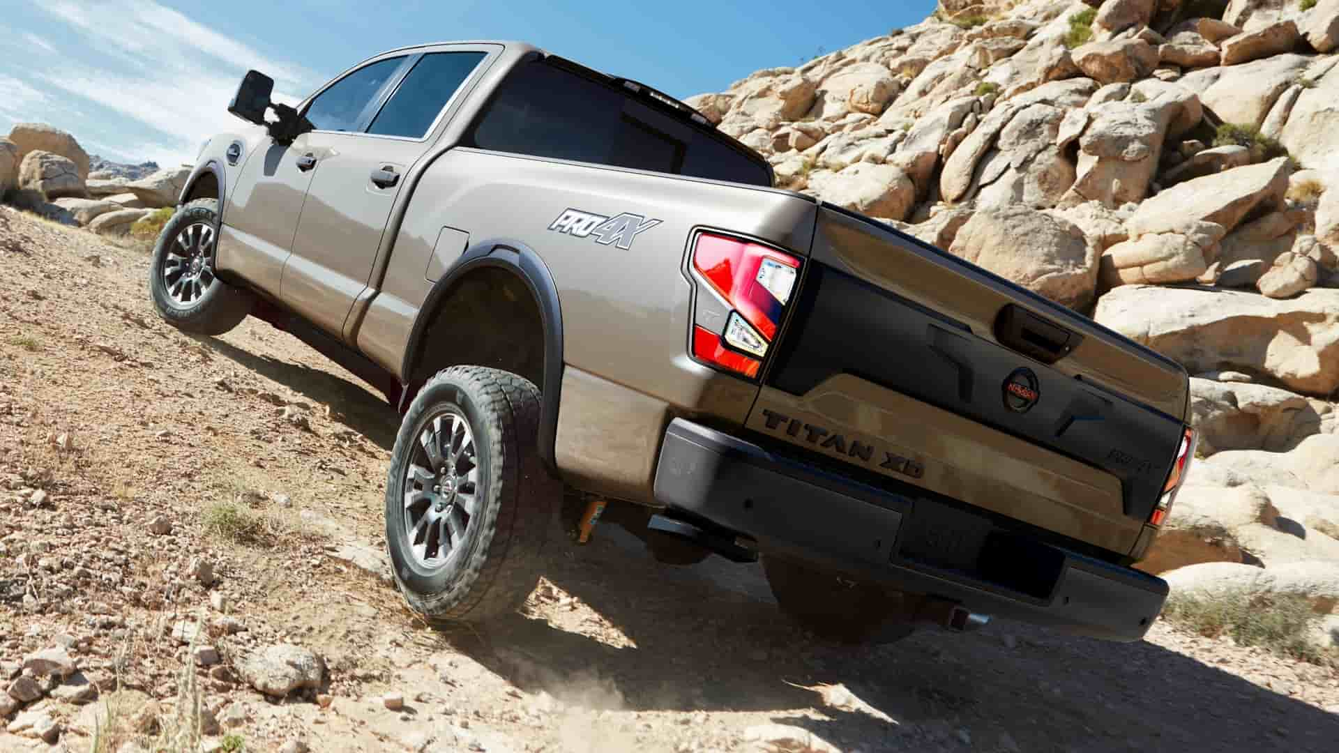 Explore the 2020 Nissan Titan near Orange CA