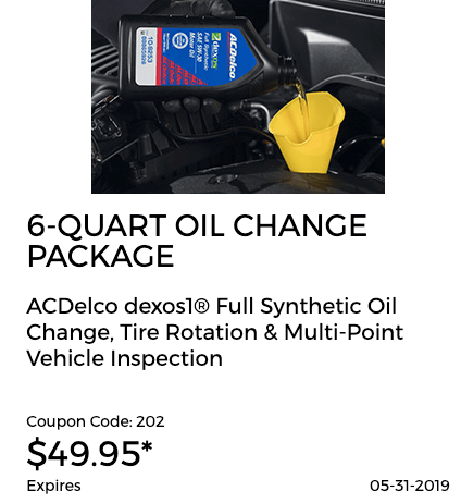 OIL CHANGE REBATE