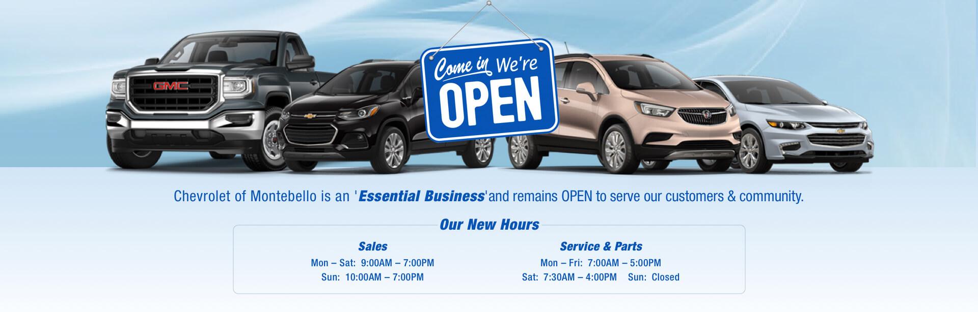 New Used Chevrolet Dealer Cerritos Whittier El Monte