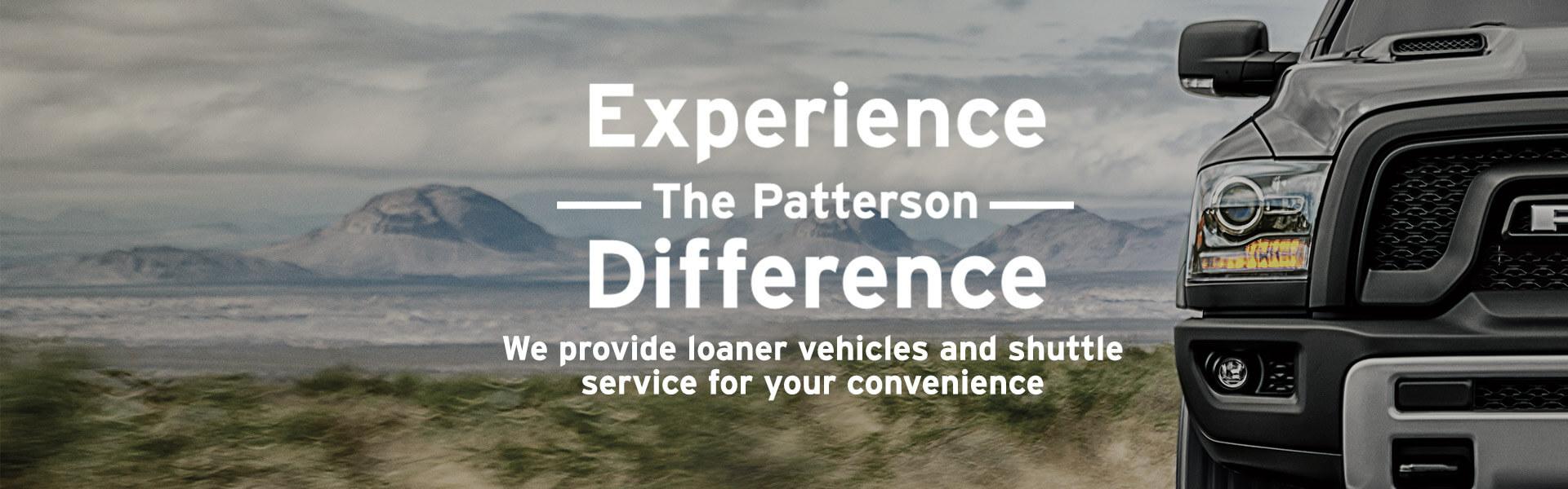Service loaner car
