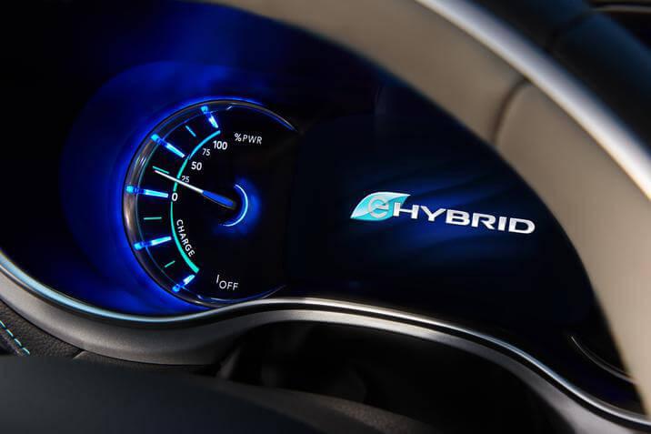 2019 Chrysler Pacifica Hybrid dash