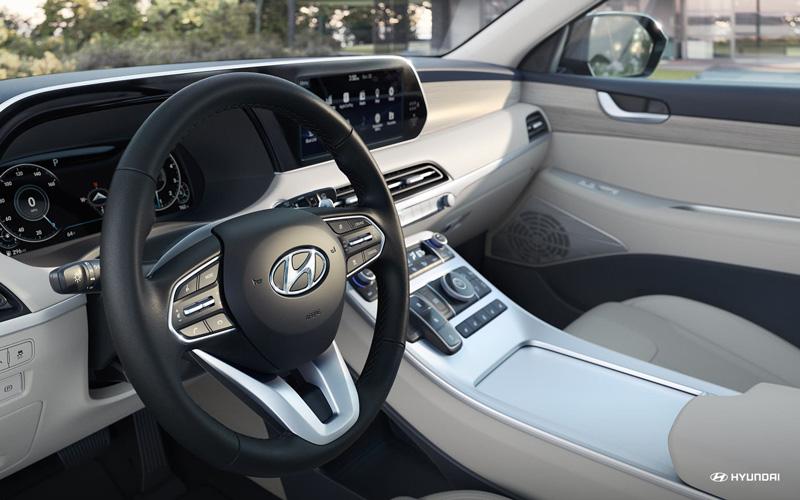 2020 Hyundai Palisade Interior Dash Technology