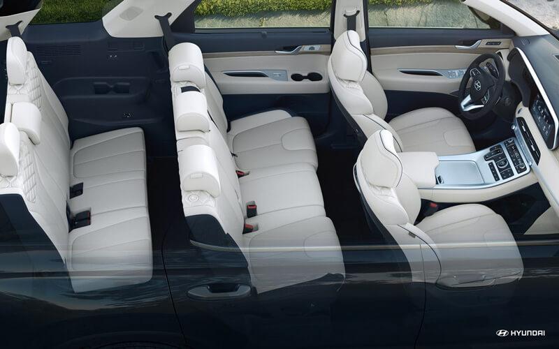 2020 Hyundai Palisade Interior Third Row Seat