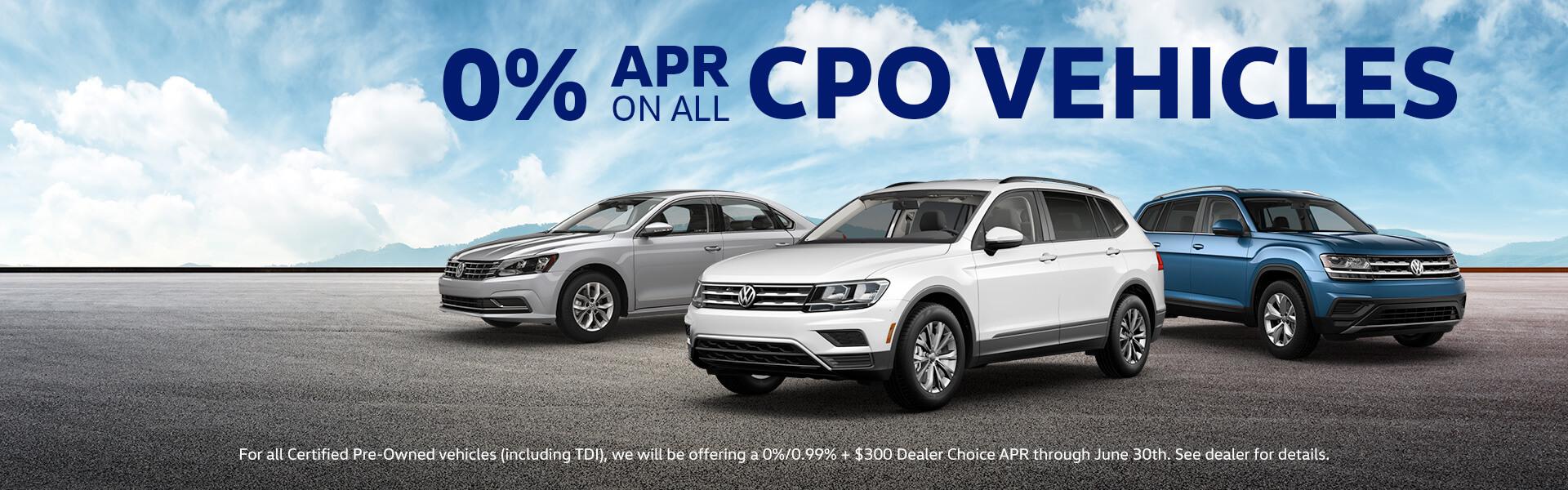 0% APR on CPO