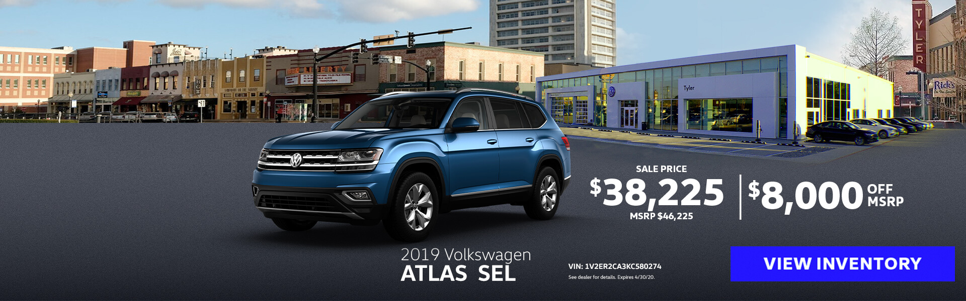 Volkswagen Atlas Offer