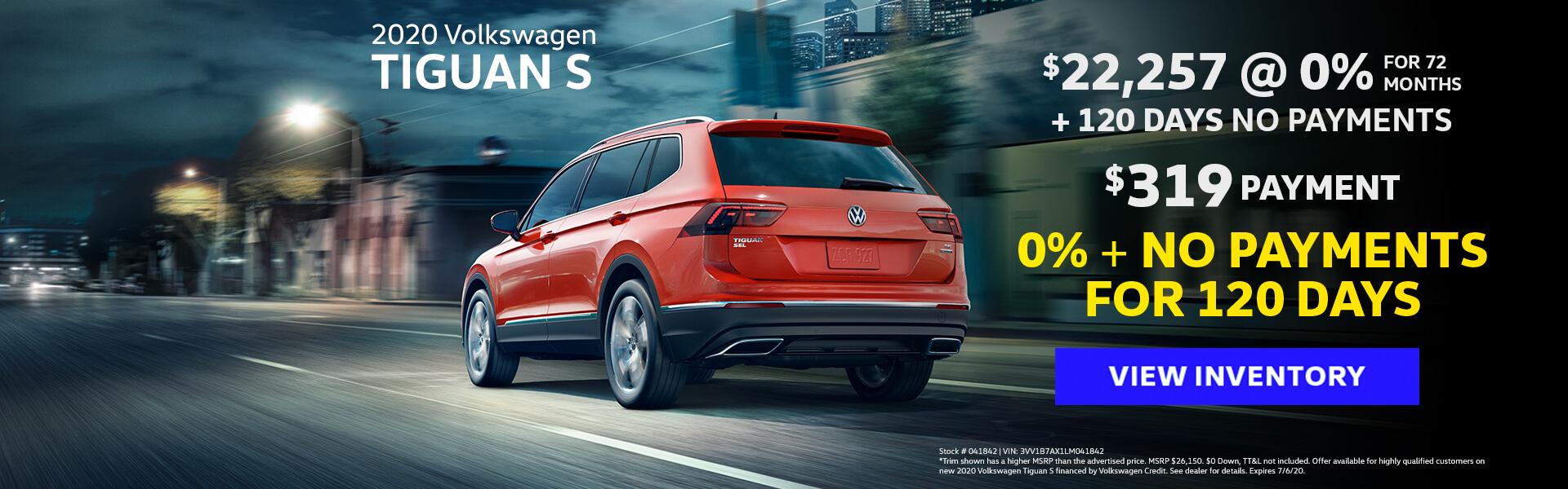VW Tiguan Offer