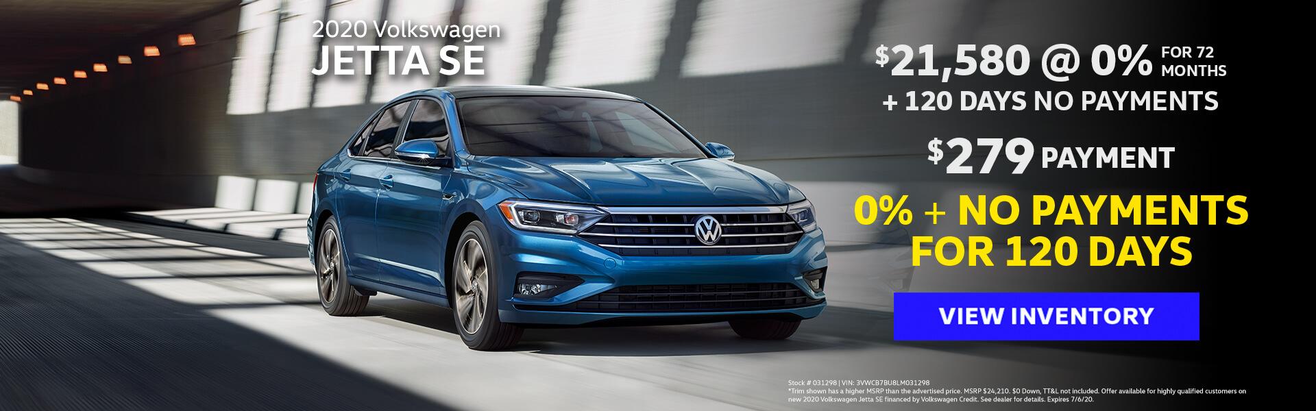 VW Jetta Offer