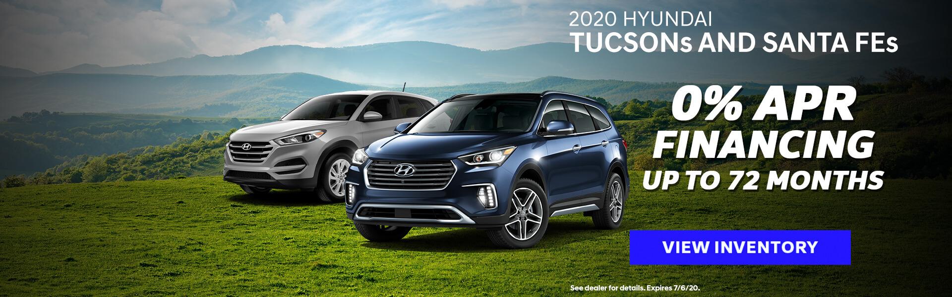 Hyundai - Santa Fe & Tucson