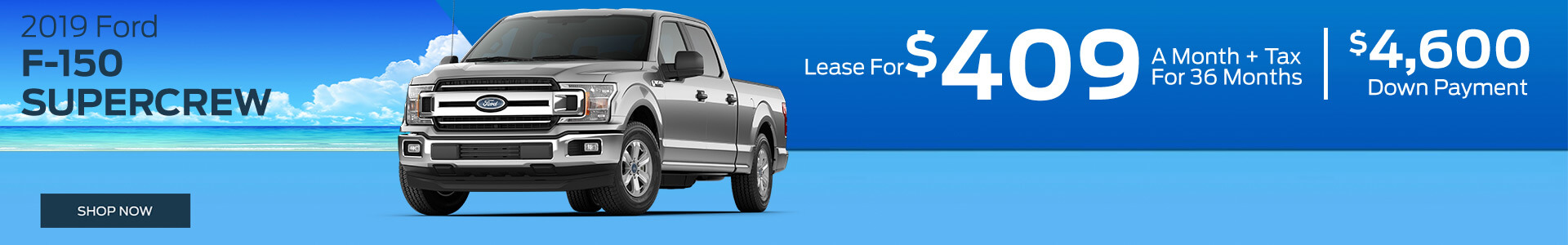 F-150 - Lease for $409