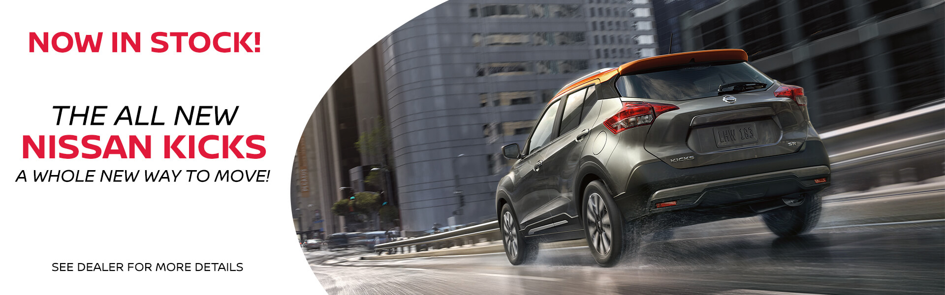 Nissan Kicks - Now in Stock