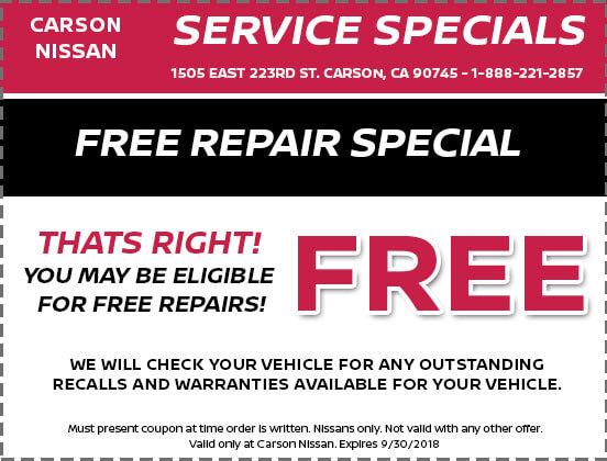 Free Repair