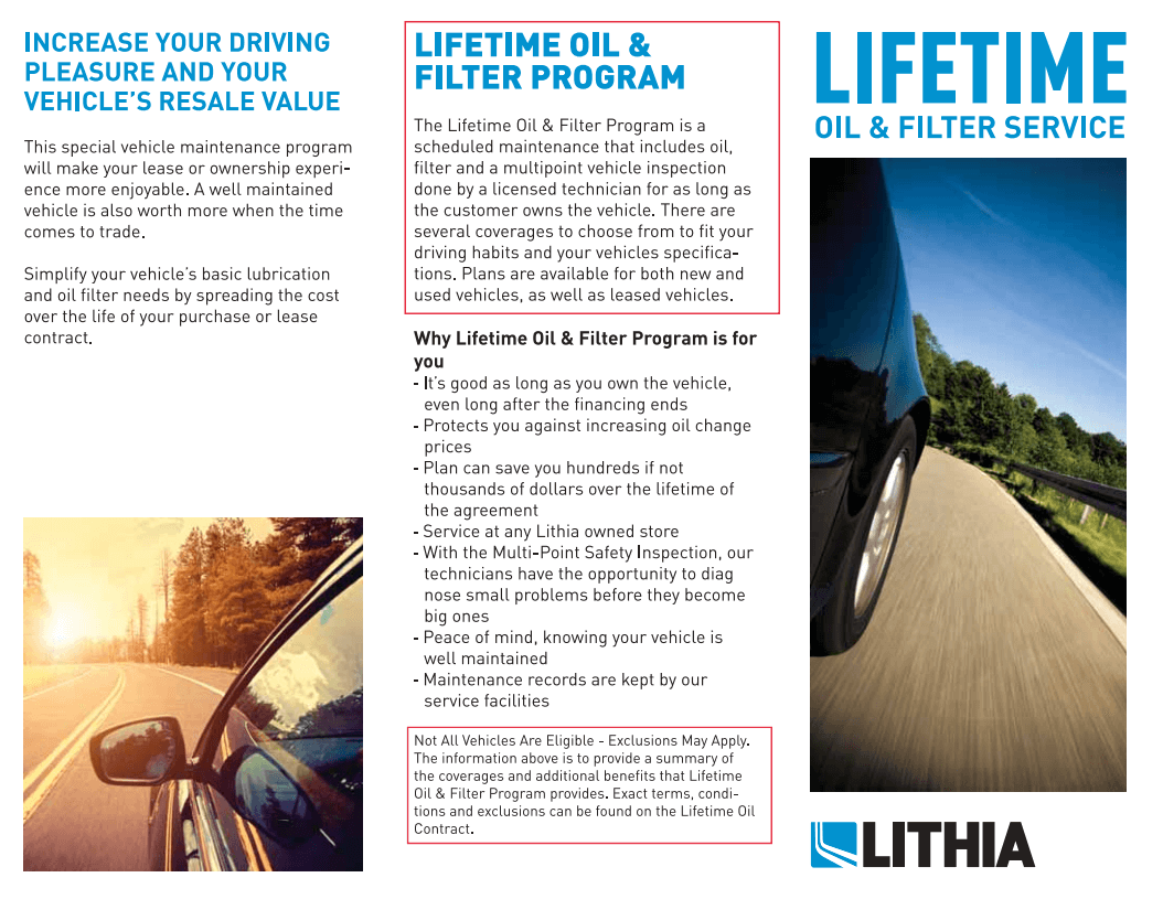 Lifetime Oil Carson Nissan