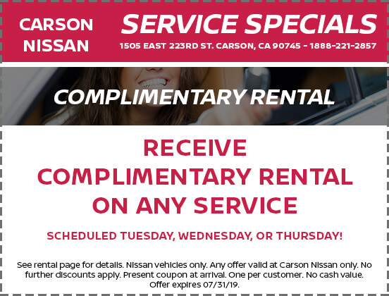 Complimentary Rental