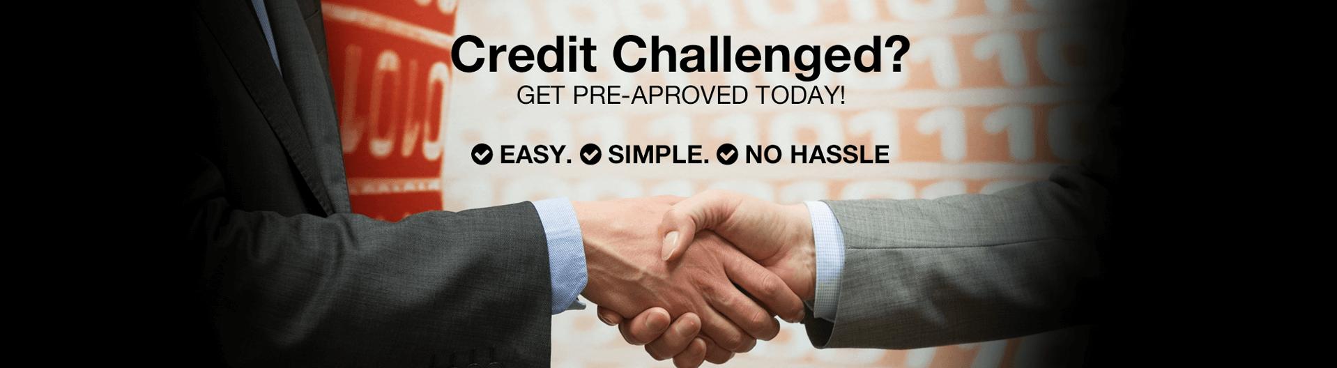 Credit Challenged