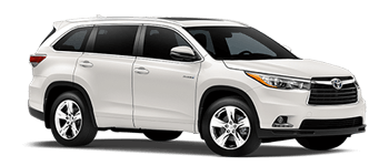 Right Toyota Highlander Hybrid