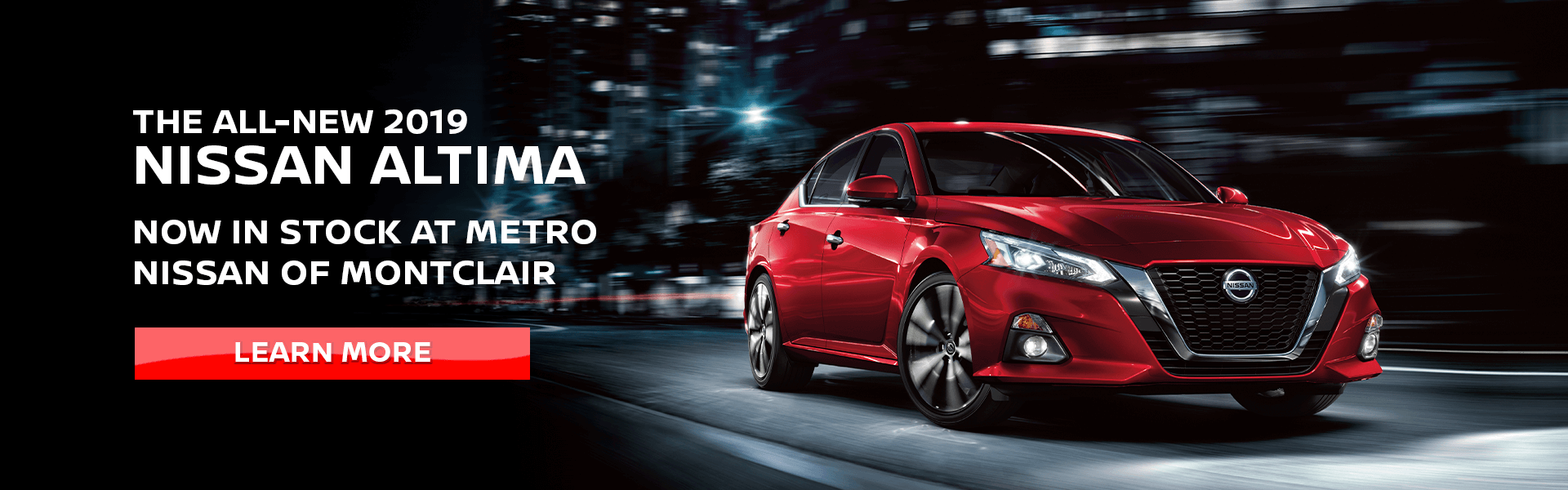 2019 Altima Learn More