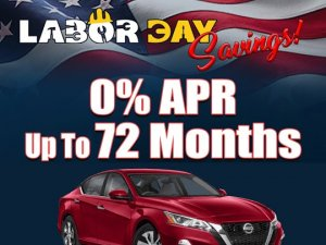 Metro Nissan Montclair Labor Day Specials
