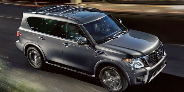 Design Features of the 2017 Nissan Armada Side View