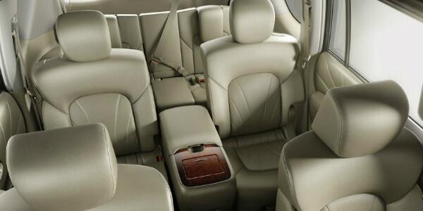 Design Features of the 2017 Nissan Armada Interior