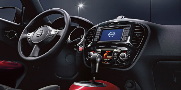 Performance and Technology on the 2017 Nissan Juke Command Center