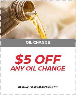 $5 Off Oil