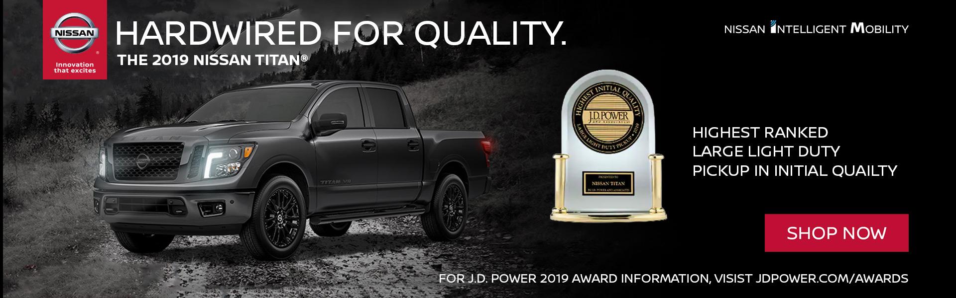 Nissan Titan JD Power Award